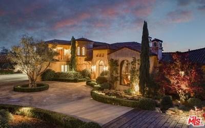 San Luis Obispo County, Santa Barbara County Single Family Home For Sale: 1 Cima Vista Lane