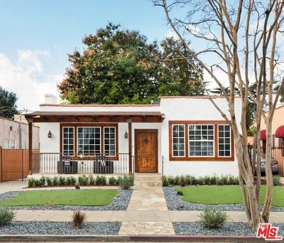 Los Angeles Single Family Home For Sale: 543 N Irving