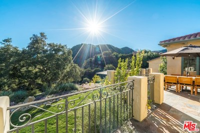 Topanga Single Family Home For Sale: 2166 Old Topanga Canyon Road