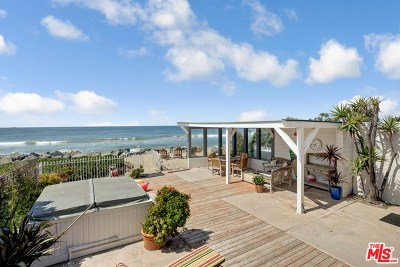 Single Family Home For Sale: 31336 Broad Beach Road
