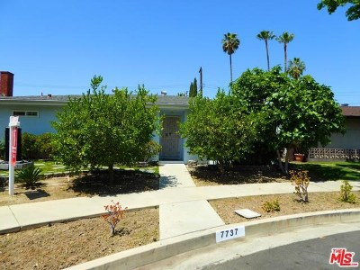North Hollywood Single Family Home For Sale: 7737 Alcove Avenue