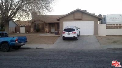 Palmdale Single Family Home For Sale: 37854 Maureen Street