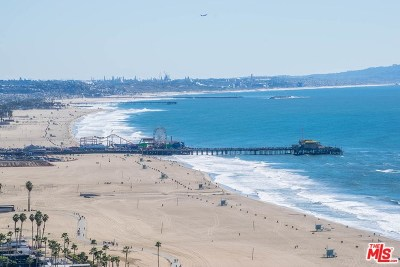 Santa Monica Condo/Townhouse For Sale: 201 Ocean Avenue #807B