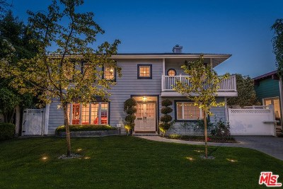 Burbank Single Family Home For Sale: 444 S California Street