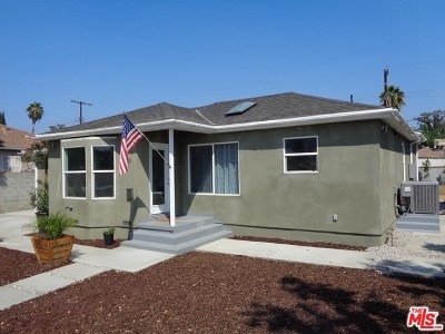 Panorama City Single Family Home For Sale: 8138 Sylmar Avenue