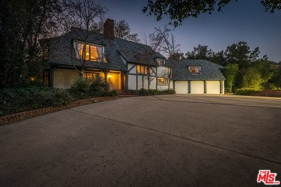 Studio City Single Family Home For Sale: 12127 Iredell Street