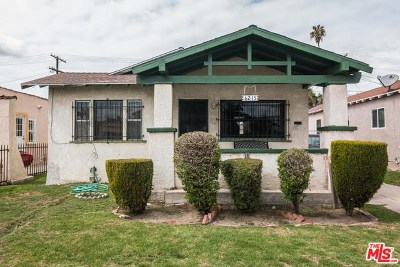 Los Angeles Single Family Home For Sale: 6215 4th Avenue