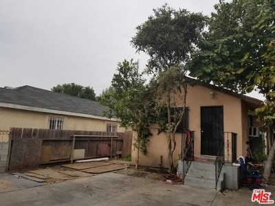 Los Angeles Single Family Home For Sale: 10901 Mona