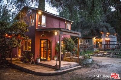 Topanga Single Family Home For Sale: 1742 Happy Trail