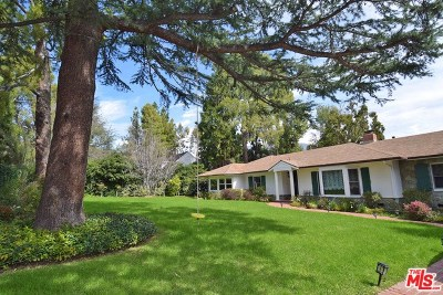 La Canada Flintridge Single Family Home For Sale: 4736 Gould Avenue