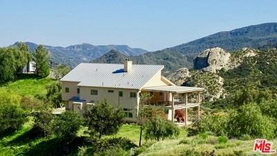 Topanga Single Family Home For Sale: 23900 Zuniga Road