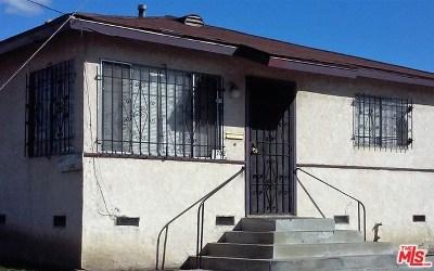 Los Angeles Multi Family Home For Sale: 1702 E 114th Street