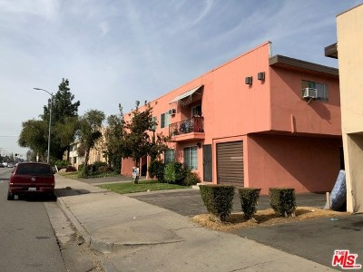 Van Nuys Multi Family Home For Sale: 14011 Sherman Way
