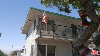 Los Angeles Condo/Townhouse For Sale: 3321 W 77th Street