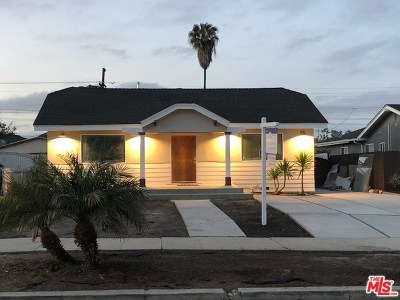 Los Angeles Single Family Home For Sale: 3533 W 59th Street