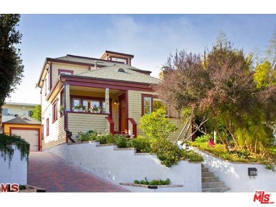 Santa Monica Single Family Home For Sale: 2704 Highland Avenue