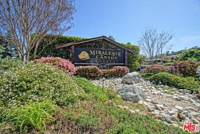 San Pedro Condo/Townhouse For Sale: 374 S Miraleste Drive #412