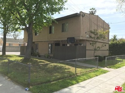 Los Angeles County, Orange County, Riverside County, San Diego County Multi Family Home For Sale: 851 Martin Luther King Jr Avenue