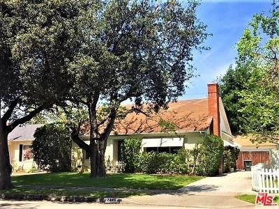 Pasadena Single Family Home For Sale: 2405 Monte Vista Street