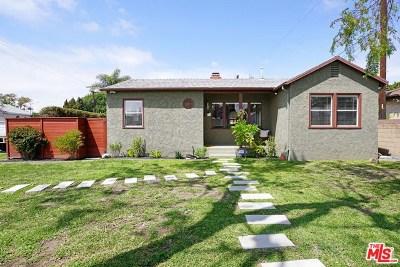 Culver City Single Family Home Active Under Contract: 4478 Purdue Avenue