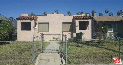 Los Angeles Multi Family Home For Sale: 5128 Cimarron Street