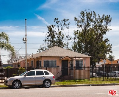 Los Angeles Multi Family Home For Sale: 10224 S Broadway