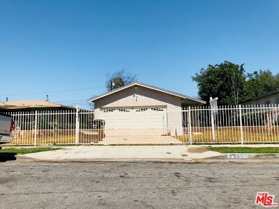 Compton Single Family Home For Sale: 935 W 133rd Street
