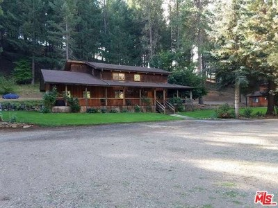 Hayfork Single Family Home For Sale: 2704 Hyampom Road
