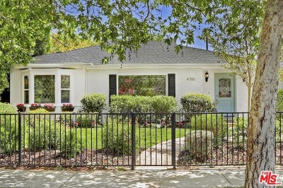 Studio City Single Family Home For Sale: 4386 Camellia Avenue