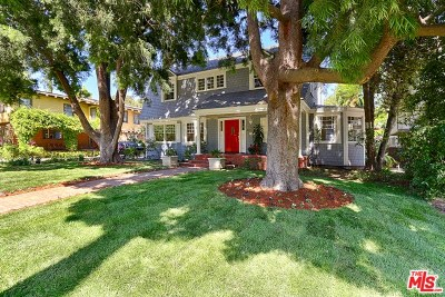 Pasadena Single Family Home For Sale: 268 S Orange Grove