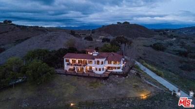 Buellton Single Family Home For Sale: 1240 Cougar Ridge Road