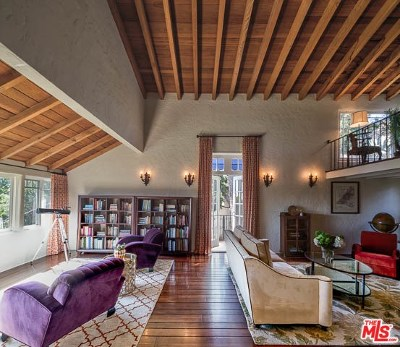 Los Angeles Single Family Home For Sale: 2752 Hollyridge Drive