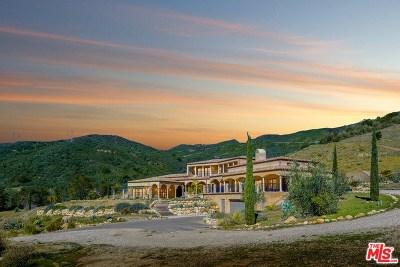 San Luis Obispo County, Santa Barbara County Single Family Home For Sale: 1747 San Marcos Pass Road