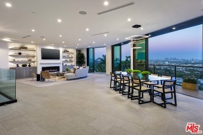 Hollywood Hills Single Family Home For Sale: 8130 Laurel View