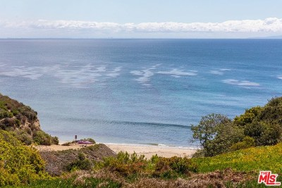Malibu Single Family Home Active Under Contract: 6744 And 6734 Zumirez Drive