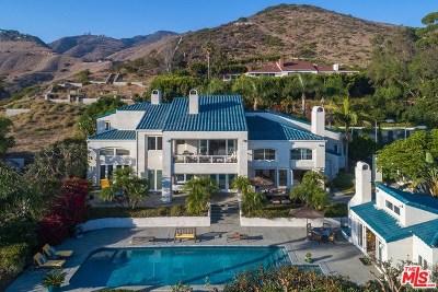 Malibu Single Family Home For Sale: 27017 Sea Vista Drive