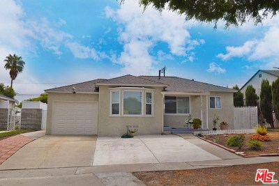 Torrance Single Family Home For Sale: 17108 Glenburn Avenue