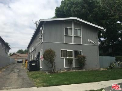 Northridge Multi Family Home For Sale: 8357 Amigo Avenue