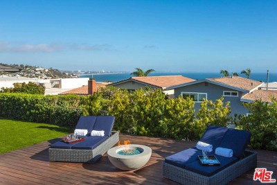 Malibu Single Family Home For Sale: 18366 Clifftop Way