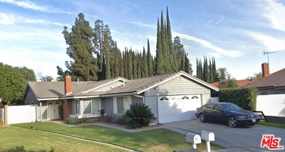 Cerritos Single Family Home For Sale: 17110 Horst Avenue