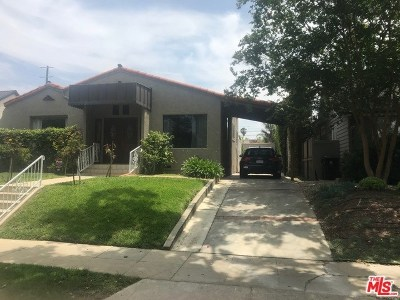 Los Angeles Single Family Home For Sale: 744 N Martel Avenue