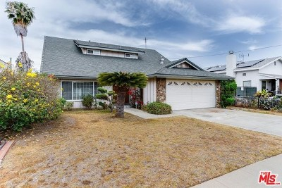 Gardena Single Family Home For Sale: 15015 S Kingsley Drive