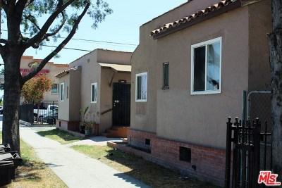 Huntington Park Multi Family Home For Sale: 6333 State Street