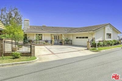 Burbank Single Family Home For Sale: 1015 La Rambla Drive