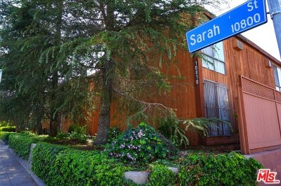 North Hollywood Multi Family Home For Sale: 10810 Sarah Street