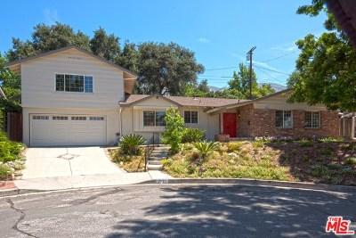 La Crescenta Single Family Home For Sale: 3825 Los Amigos Street