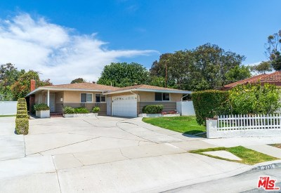 Torrance Single Family Home For Sale: 2131 W 187th Street