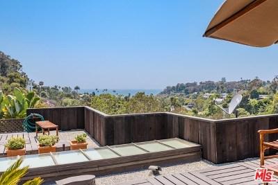 Santa Monica Single Family Home For Sale: 454 Entrada Drive