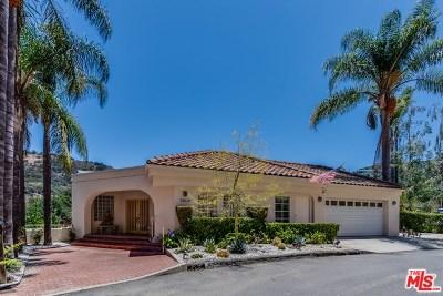 Sherman Oaks Single Family Home For Sale: 3606 Camino De La Cumbre