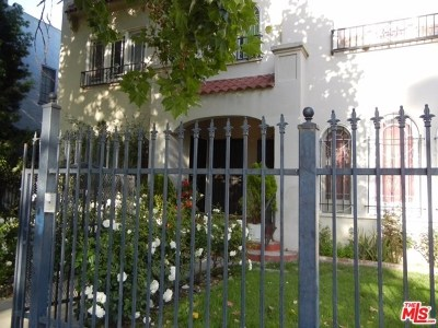 Los Angeles Multi Family Home For Sale: 1210 S Plymouth